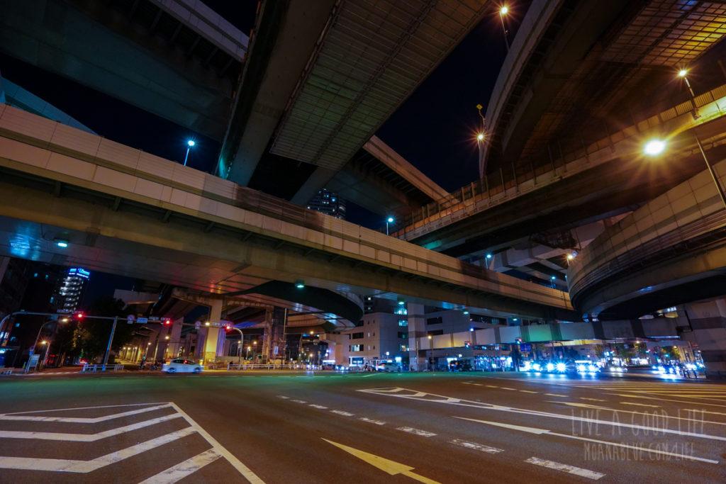 阪神高速阿波座ジャンクション