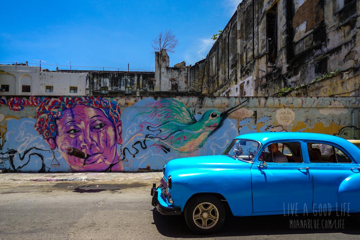 キューバ・ハバナの車