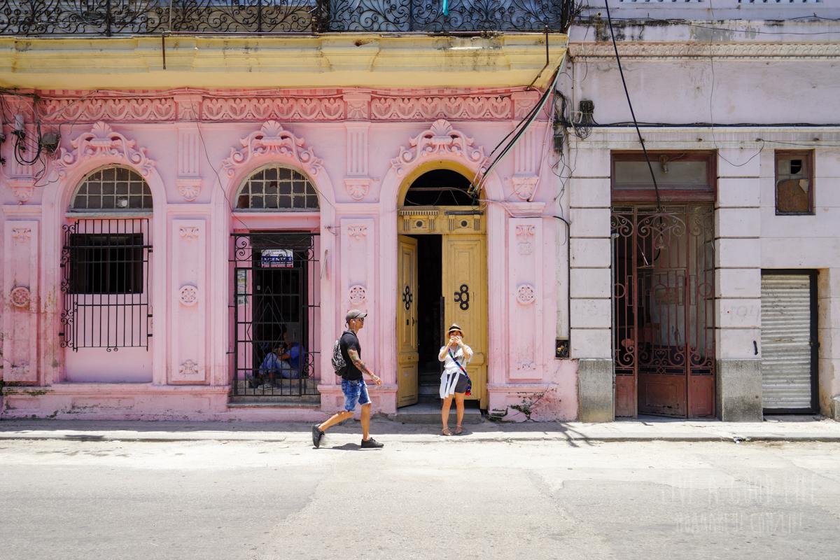 ハバナの街角