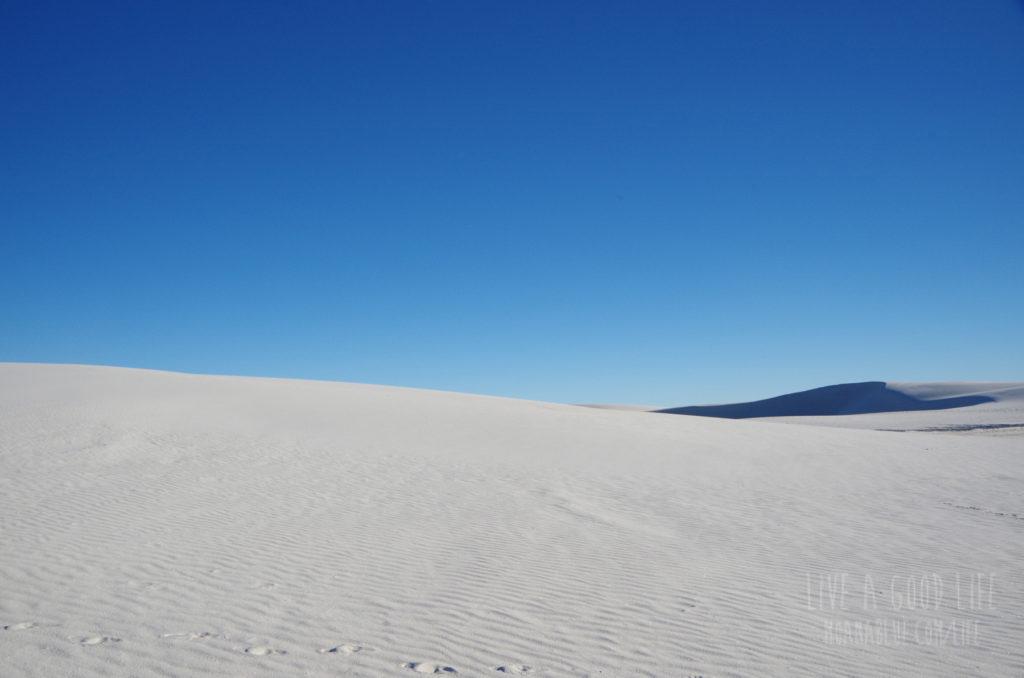 アメリカ・ホワイトサンズ国立公園