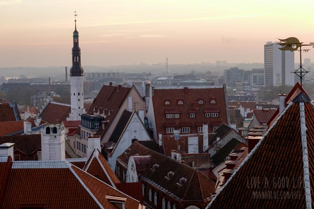 エストニア・タリン旧市街