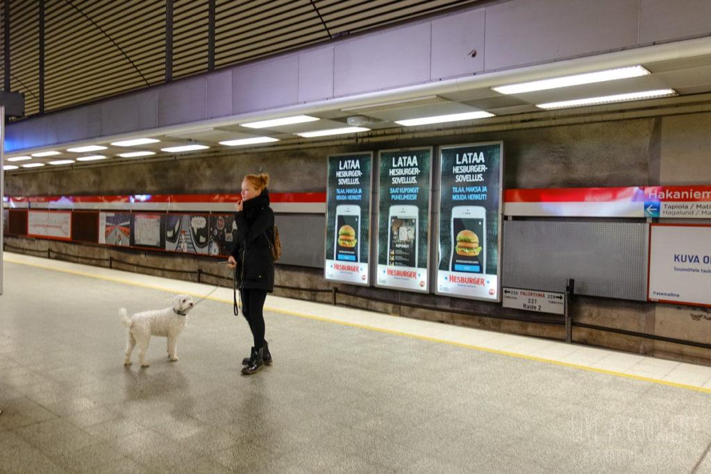 ヘルシンキ地下鉄駅